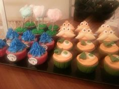 Dr.suess cupcakes