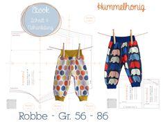 Ebook Pumphose Robbe - Gr. 58-86
