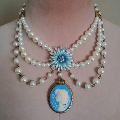 Sailor Moon Mercury Enchantment Cameo Necklace