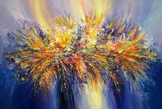 "Saatchi Art Artist Peter Nottrott; Painting, ""Vitality Blue XL 2"" #art"