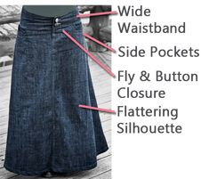 @Whimsical Jeans  Fresh Modesty's Denim eBook: 63 page step by step tutorial.. This includes 2 tutorials. $12.99 Flowy Skirt, Modest Denim Skirts, Jean Skirt, Modest Outfits, Modest Clothing, Classy Outfits, Pretty Outfits, Dress Skirt, Recycle Jeans