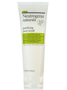 Neutrogena Naturals Purifying Daily Scrub, $8