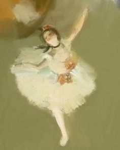 My Favorite painting by Edgar Degas <3