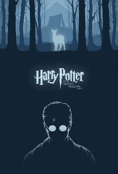 Harry Potter & the Deathly Hallows Part 1 Art Print by Cameron K. Lewis | Society6