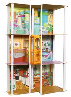 The Barbie Townhouse-I remember this like it was yesterday!