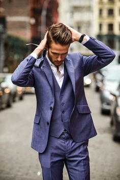 http://www.dhgate.com/product/2014-newest-men-suit-blazers-two-button-lapel/184368425.html   his suit from DK , all suits can be custom made , and there are discount now ! Hope this can help you ! lol