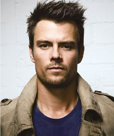 "Josh Duhamel-You're a true fan if you first saw him on ""All My Children""!  :-)"