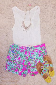 Pinkandgreenlivingthedream: new Lilly shorts