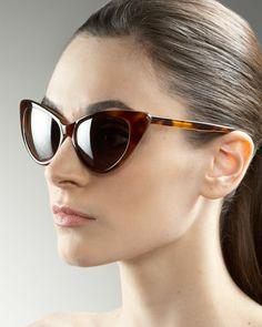 0d8b0adf88c Nikita Cat Eye Sunglasses by Tom Ford at Neiman Marcus.  Nicole Pratt Cat  Eyes
