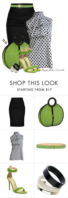 """""""Straw Bag & Shoes"""" by maggie-jackson-carvalho on Polyvore featuring Paule Ka, Magid, Kenzo, Gianvito Rossi, Dorothy Perkins and Wallis"""