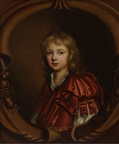 Portrait of an unknown young boy