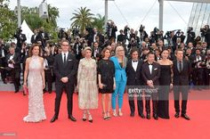 Jury members Carole Bouquet, Nicolas Winding Refn, Leila Hatami, Sofia Coppola, Jury President Jane Campion, jury members Gael Garcia Bernal, Zhangke Jia and Do-yeon Jeon and Willem Dafoe attend the Opening ceremony and the 'Grace of Monaco' Premiere during the 67th Annual Cannes Film Festival on May 14, 2014 in Cannes, France.