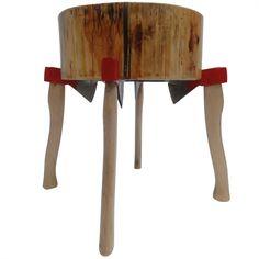 Lumberjack stool ADD Design Uranus Lab The Netherlands 2011