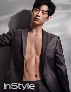 Seo Kang Joon Bares Abs in InStyle Korea's August Issue Ahn Jae Hyun, Kim Hyun, Lee Jong Suk, Nam Joo Hyuk Abs, Korean Star, Korean Men, Asian Actors, Korean Actors, Seo Kang Joon Wallpaper
