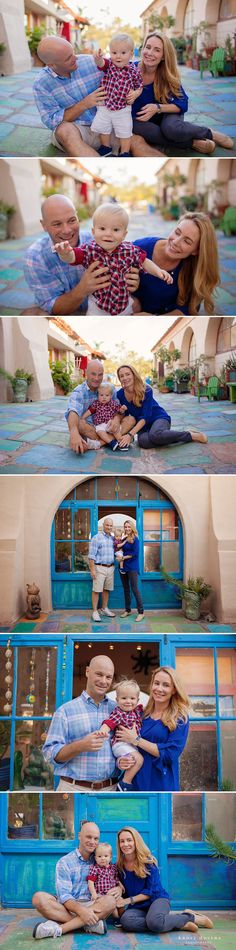 San Diego Family Portraits, San Diego Family Photographer, Balboa Park Family Portraits, Baby Photographer San Diego, Spanish Village Portraits