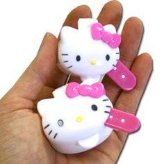 Hello Kitty Die-cut Mayonnaise Cup & Spoon Set