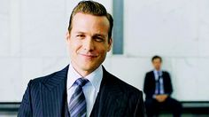 Totally happy to admit that I am fully in love with Harvey Specter. Waddaya mean men like that don't really exist?! #whatwouldharveydo Gabriel Macht | Harvey Specter - SUITS GIF
