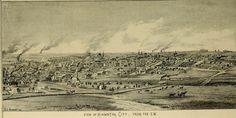 Hiawatha, Kansas Sketch 1880's