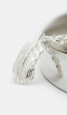 Sterling Silver Feather Necklace A Little Bird