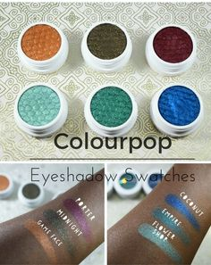 Colourpop Shadows You Need: My Favorites + Swatches - Treceefabulous