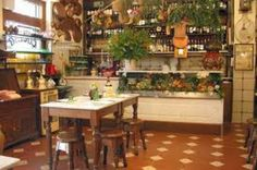 Cantina style - as in you pay for what you drink - Alla Vecchia Bettola in Firenze