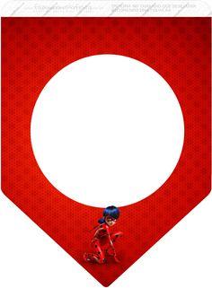 Bandeirinha Miraculous Ladybug