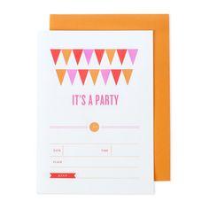 Banner Invites Orange 8Pc on Fab.com