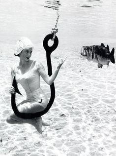 Underwater photography by Bruce Mozert c. 1950's