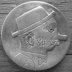 "BILL ""BILLZACH"" JAMESON HOBO NICKEL - NO DATE BUFFALO PROFILE Hobo Nickel, Buffalo, Carving, Profile, Personalized Items, User Profile, Wood Carvings, Sculptures, Printmaking"