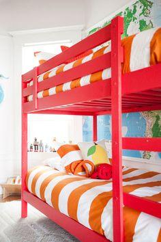 bedroom stripes