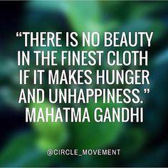 Oh Gandhi, you the man