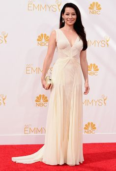 2014 Emmy Dresses. Celebrity OutfitsCelebrity WeddingsLucy LiuRed Carpet  DressesZac PosenWedding Dress ... 64ad536108c6