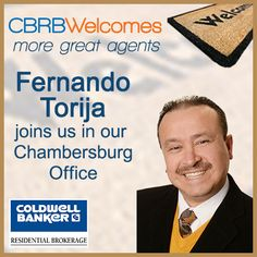 Fernando Torija affilates with our Chambersburg office!