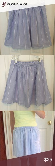 J.CREW Skirt This is a size 2, but I usually wear a 4/6 and it fits perfectly. J. Crew Skirts