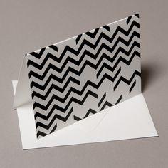 chevron pattern card