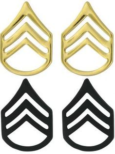 Staff Sergeant Rank - Gold of Black Metal $3.5