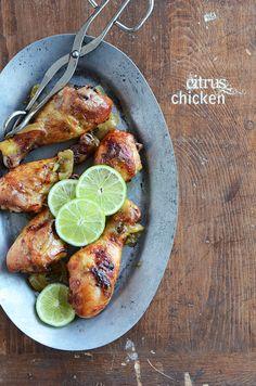 Citrus Chicken #recipe #dinner #chicken