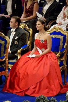 MyRoyals: Nobel Prize Ceremony, Stockholm, Sweden, December 10, 2014-Prince Daniel and Crown Princess Victoria