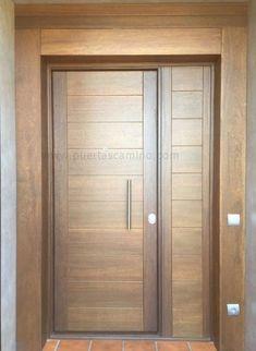 Modern Entrance Door, Main Entrance Door Design, Wooden Front Door Design, Modern Wooden Doors, Modern Exterior Doors, Double Door Design, Contemporary Front Doors, Door Gate Design, Room Door Design