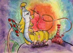gif love trippy weird hippie lsd acid psychedelic trip Alice In Wonderland alice peace tripping