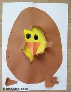 Chick Hatching Craftivity | KidsSoup