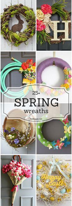 25+ Spring wreaths   NoBiggie.net
