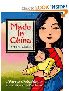 """Story combines 2 seemingly unrelated subjects - adoption & sibling relations. These are intertwined & very important to 1 young child from China. The story begins when the child is told by her older sister, in a teasing manner, that she is adopted from China, & """"marked"""" just like the broom & their toys. Upset, she goes to her father who tells her the story of how she came to be their child. The story is resolved with her older sister & she is reassured that she is loved also."""