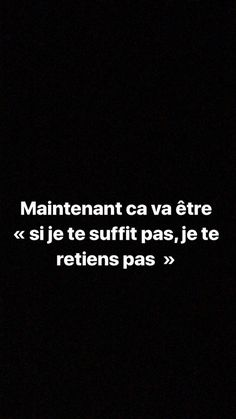 French Words, French Quotes, Mood Quotes, Daily Quotes, Bad Mood, Life Advice, Some Words, Note To Self, Positive Attitude