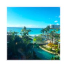 2016.5.2. #guam #グアム #beautiful  #sea #hotelview by n_a_m_i_m