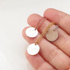Zodiac Jewelry Constellation Necklace Birthday necklace