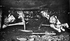 Working in the anthracite coal mines of eastern Pennsylvania has always been a dangerous and deadly job, and continues to be to this day.