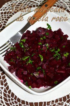 Salata marocana de sfecla rosie - RETETE DUKAN