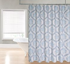 Regal Home Collections Ogee Damask Printed Fabric Shower Curtain, 70 by 72-Inch, Blue Regal Home Collections http://smile.amazon.com/dp/B00TCO2RYC/ref=cm_sw_r_pi_dp_0Hp6vb1MAFYY1