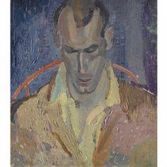 'Portrait of Arthur Lett-Haines' - Frances Hodgkins (1869–1947)